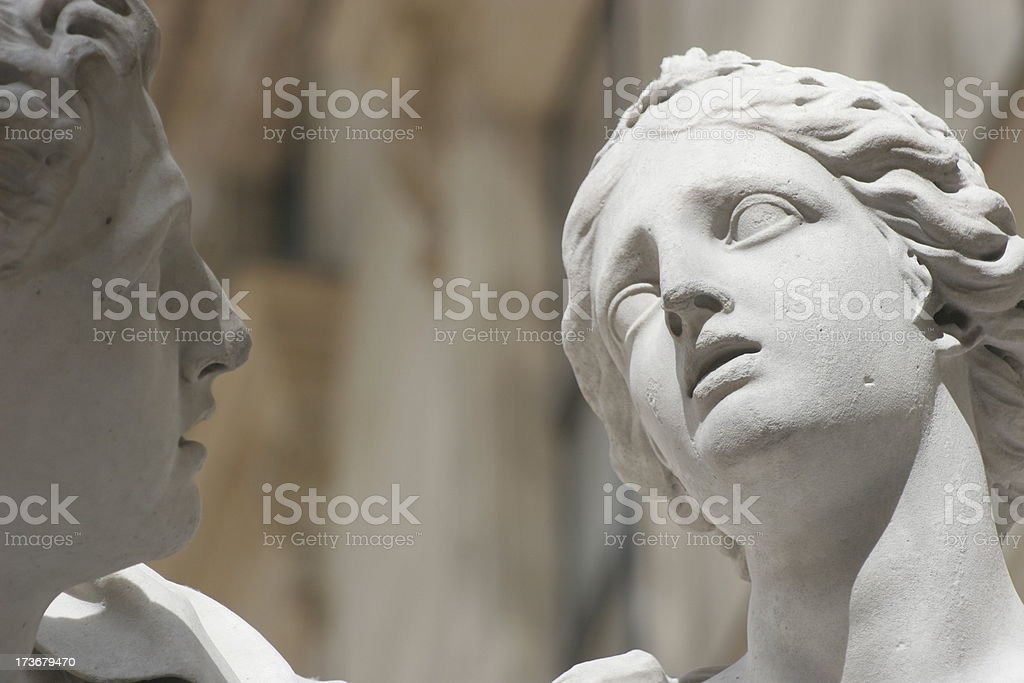Lovers tale stock photo