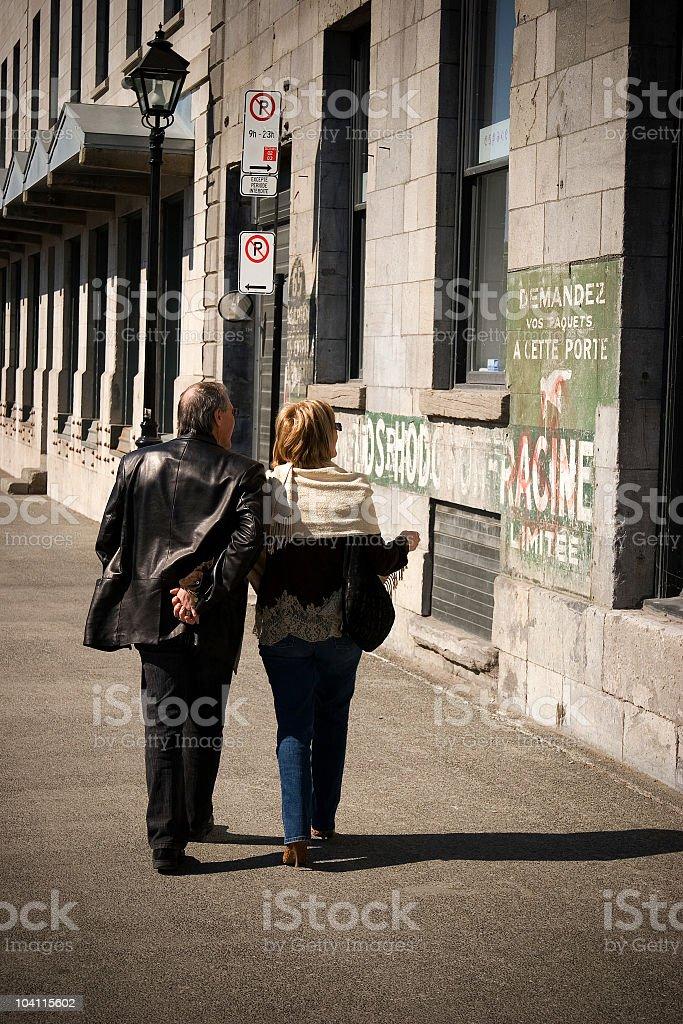 Lovers Walk stock photo