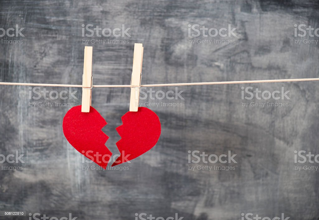 Lovesickness stock photo