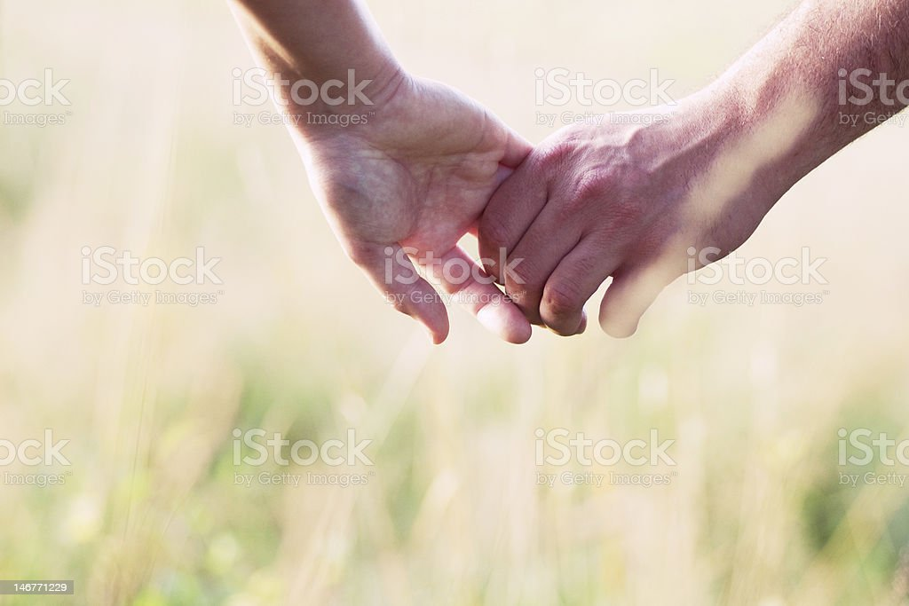 Lovin' couple stock photo