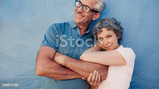 529076288 istock photo Loving caucasian couple standing together 545574750