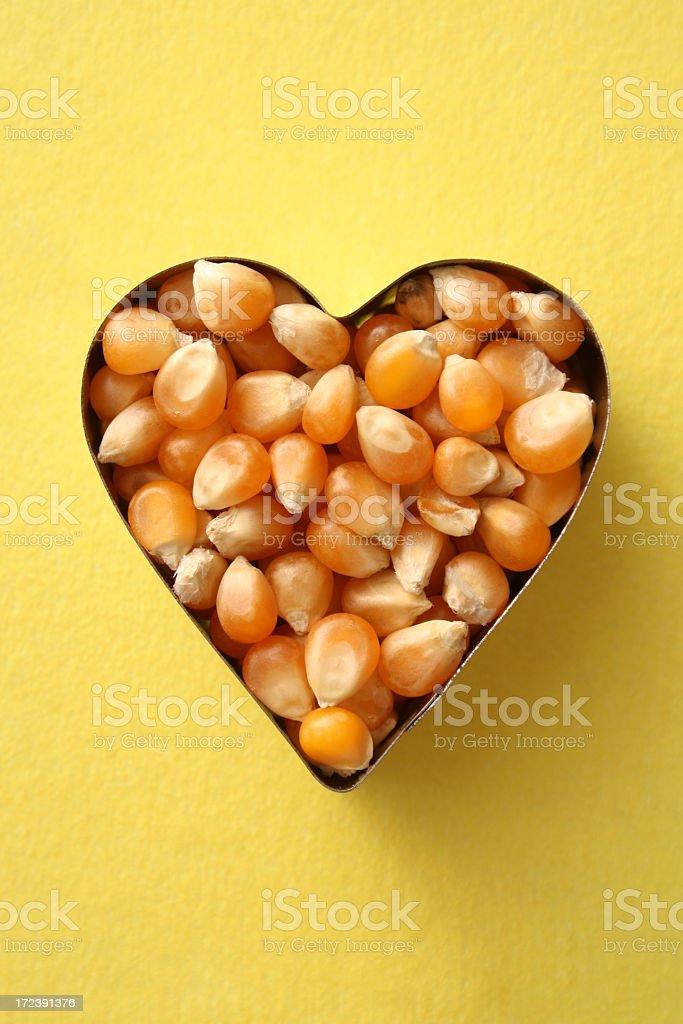 Loving corn royalty-free stock photo