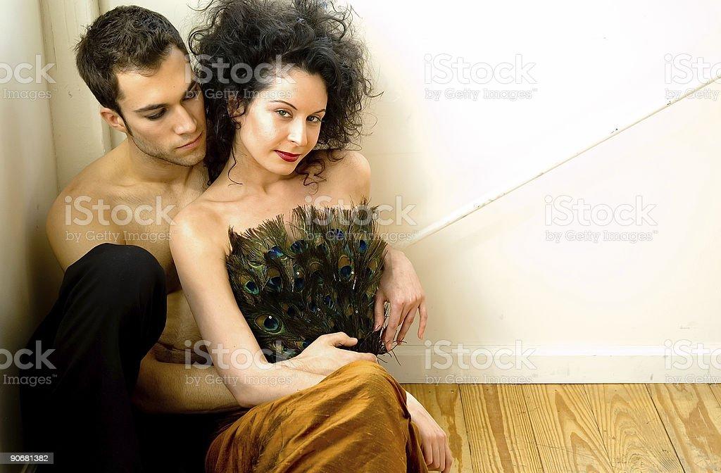 Loving Couple 1 royalty-free stock photo