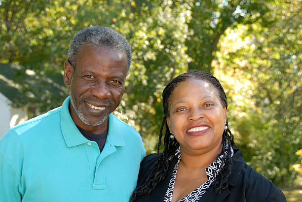 Loving couple Black couple very much in love afro caribbean ethnicity stock pictures, royalty-free photos & images