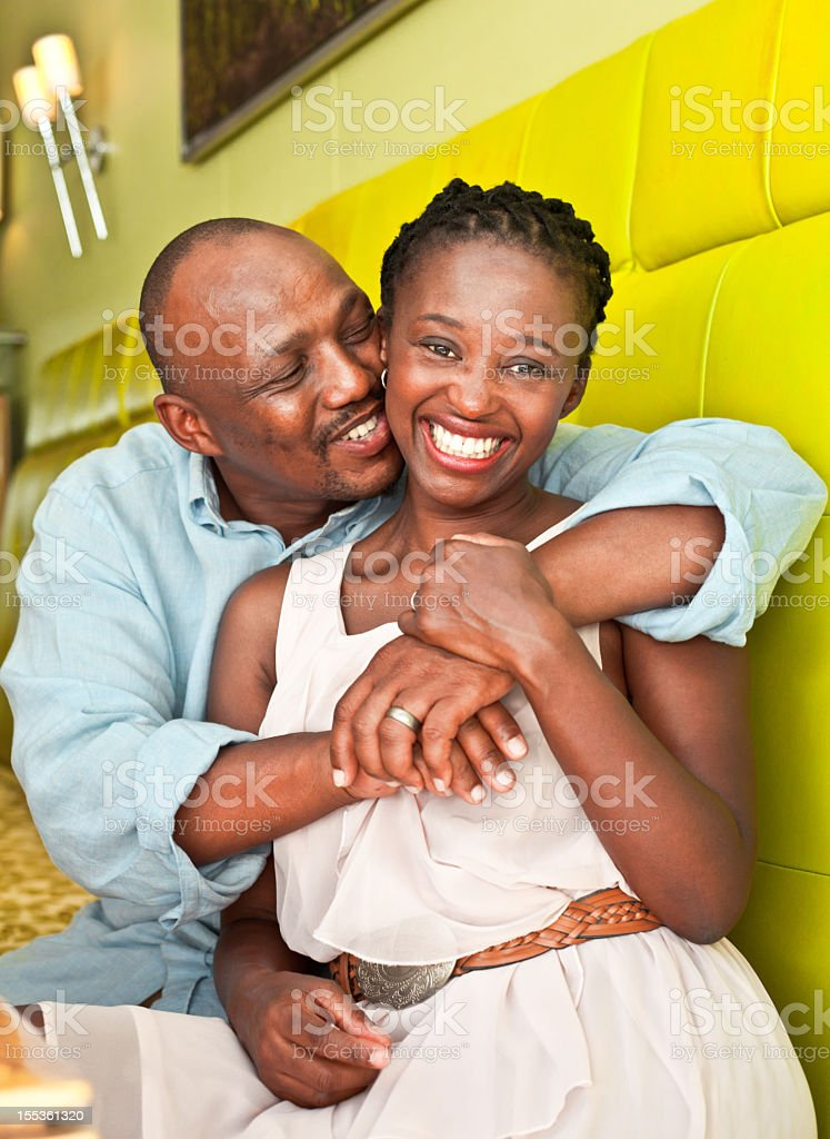Loving couple  30-34 Years Stock Photo