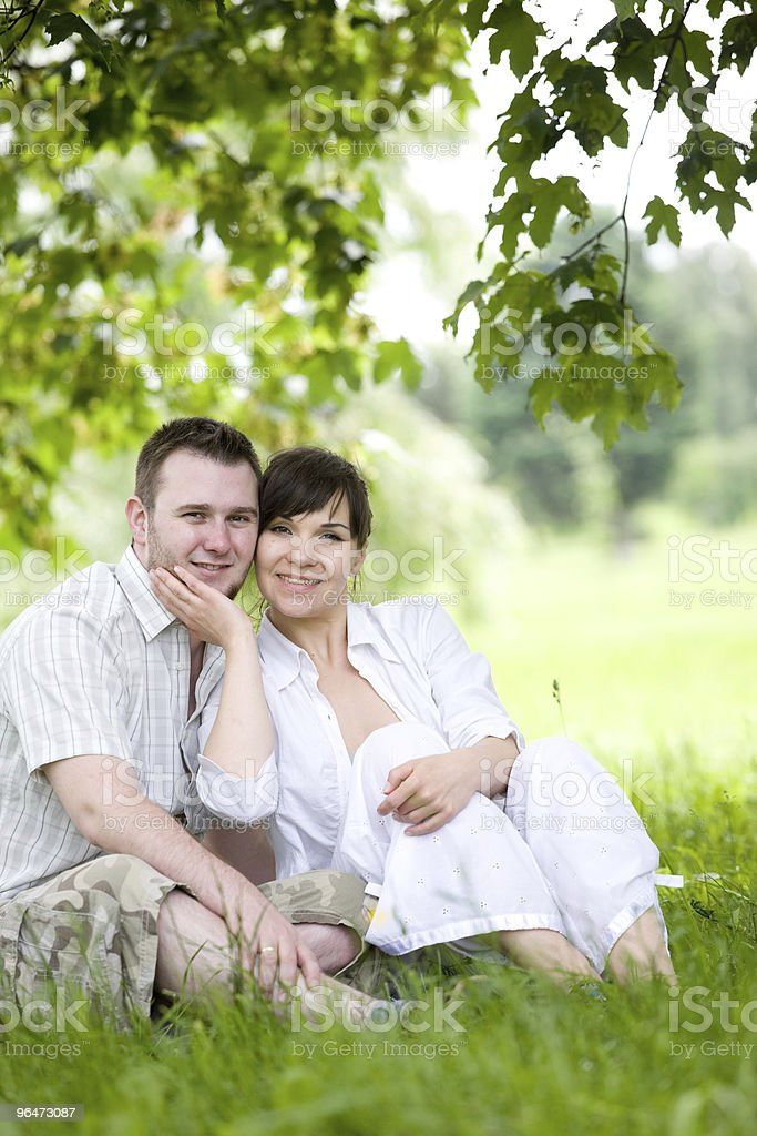 loving couple royalty-free stock photo