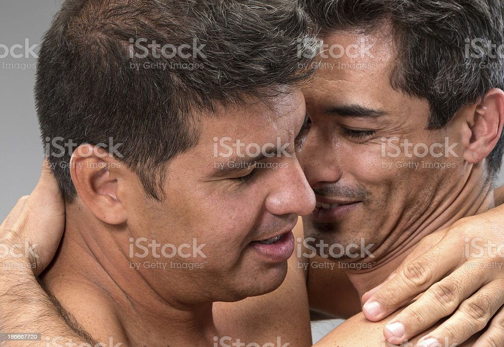 Loving each other royalty-free stock photo