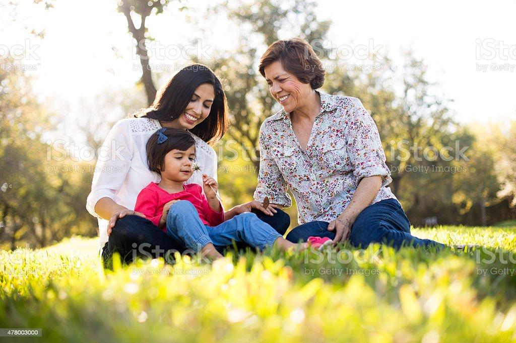 Familia amorosa - foto de stock