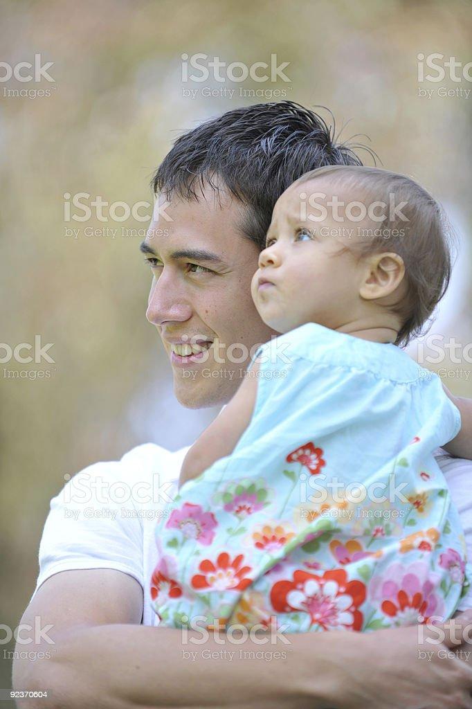 Liebende Vater Lizenzfreies stock-foto
