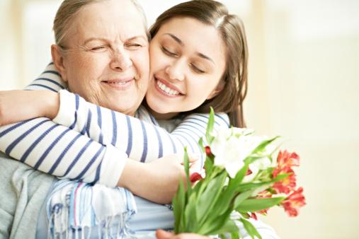 144362548 istock photo Loving granddaughter 180814840