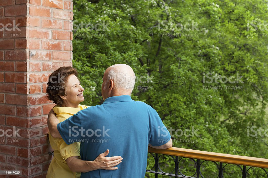 Loving husband and wife royalty-free stock photo