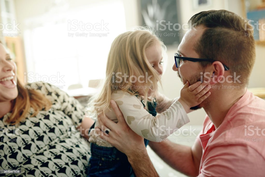 Loving kids are a reflection of a loving family royalty-free stock photo