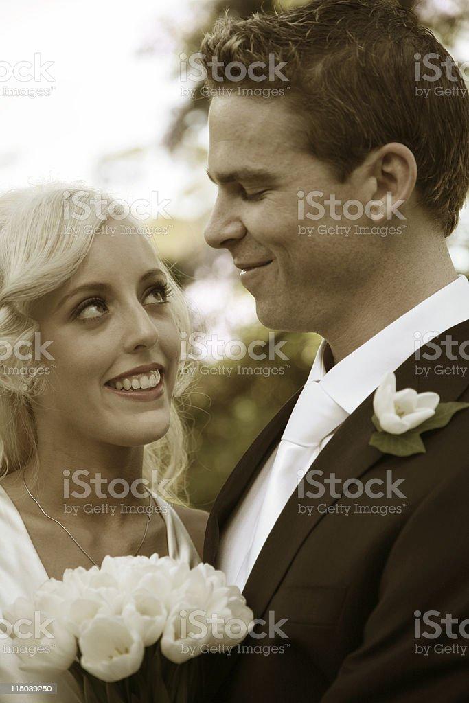 Loving look royalty-free stock photo