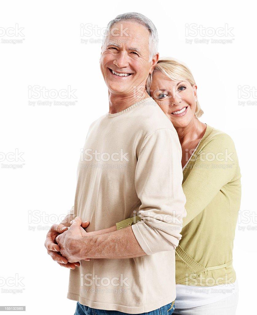 Loving mature couple royalty-free stock photo