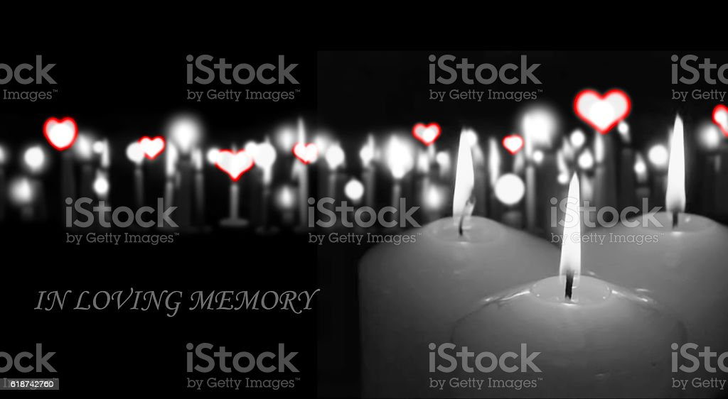 loving memory stock photo