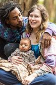 istock Loving mixed race family 498191314