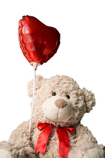 Loving Teddy Bear stock photo