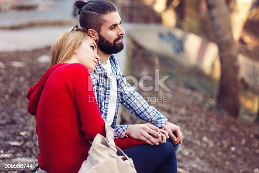 505067918 istock photo Loving teenagers enjoying the moment together. 905586744