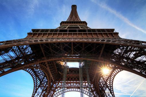 Low angle Eiffel