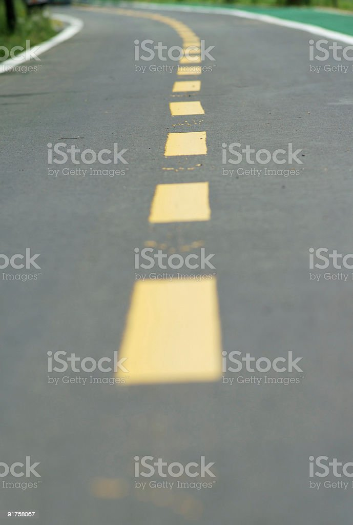 Low angle highway royalty-free stock photo