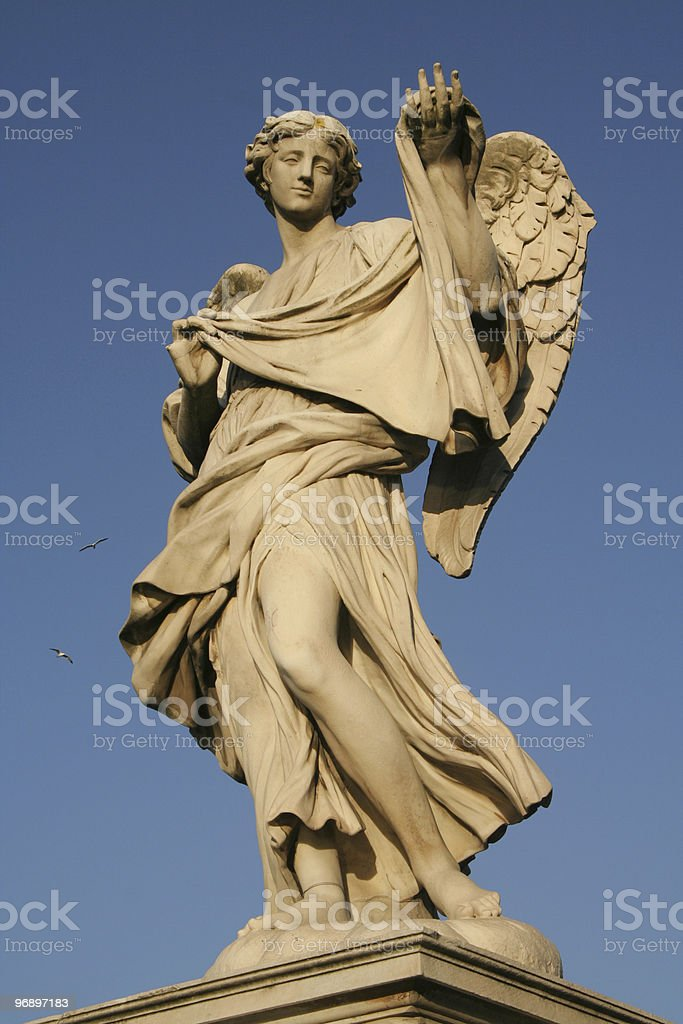 Low angle view of a statue royalty-free stock photo