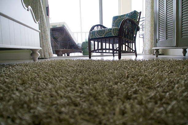 low angle view of carpet on floor stock photo
