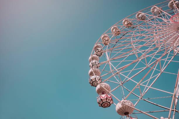 Low angle view of empty ferris wheel