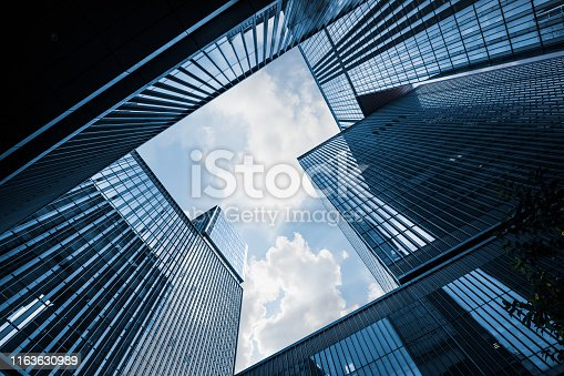 City, Urban Skyline, Skyscraper, Building Exterior,  Business