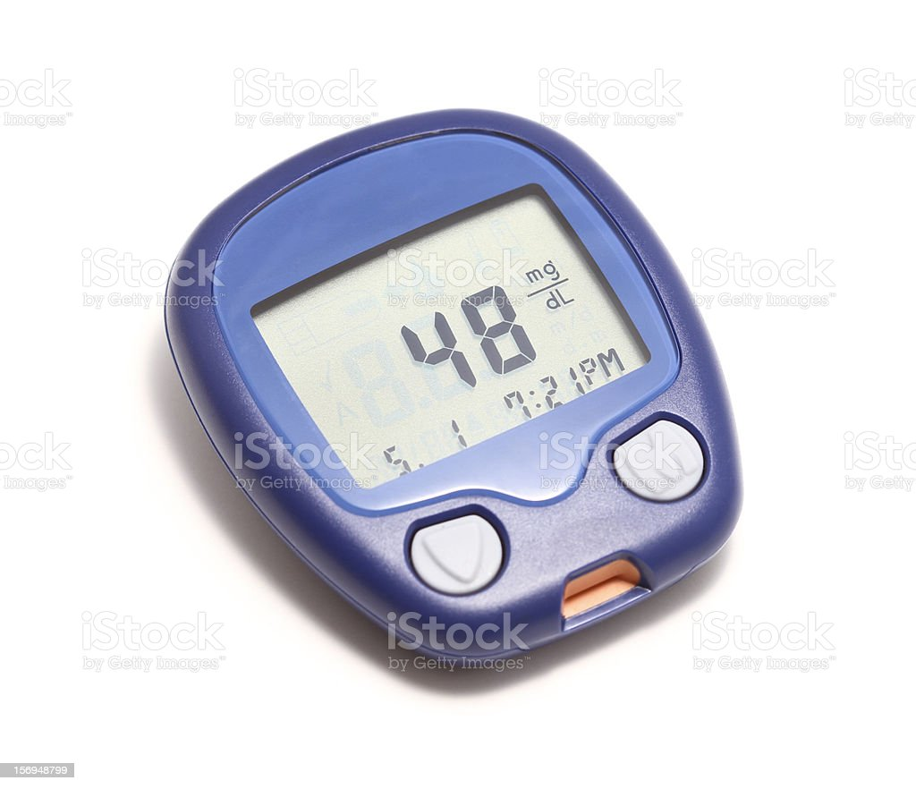 low blood sugar royalty-free stock photo