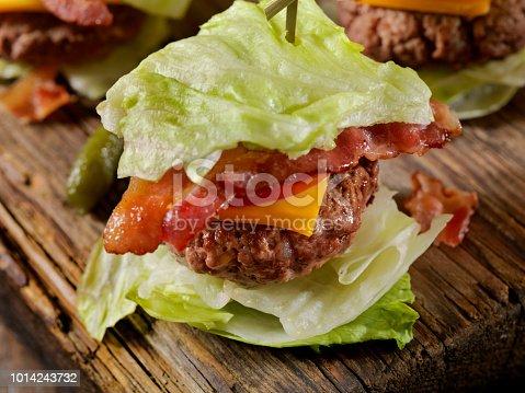 Low Carb - Lettuce Wrap Burger