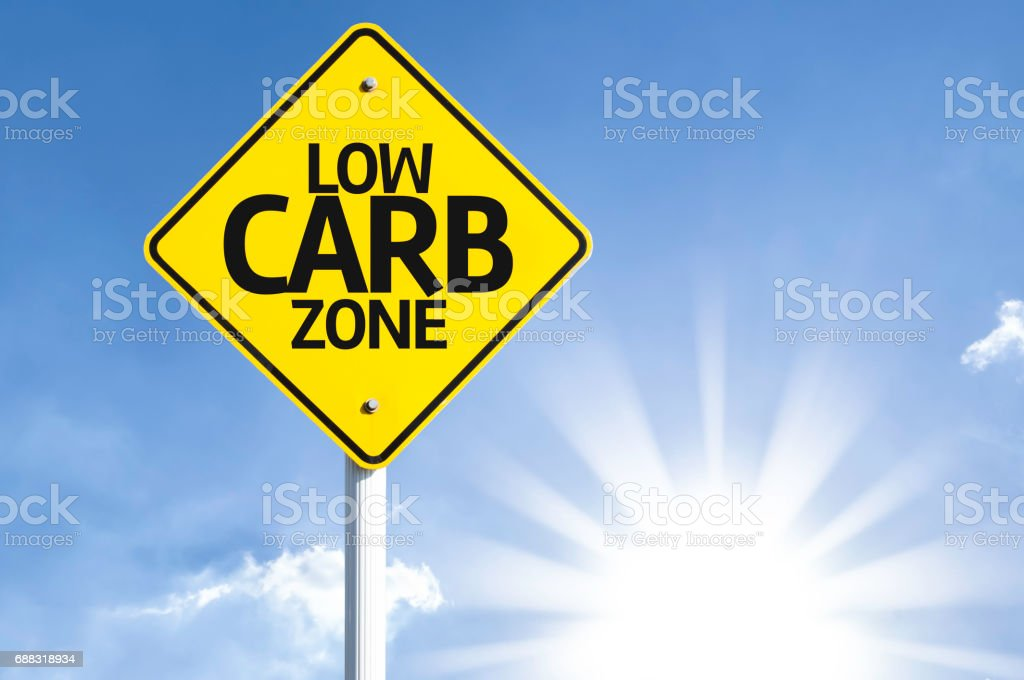 Low Carb Zone stock photo