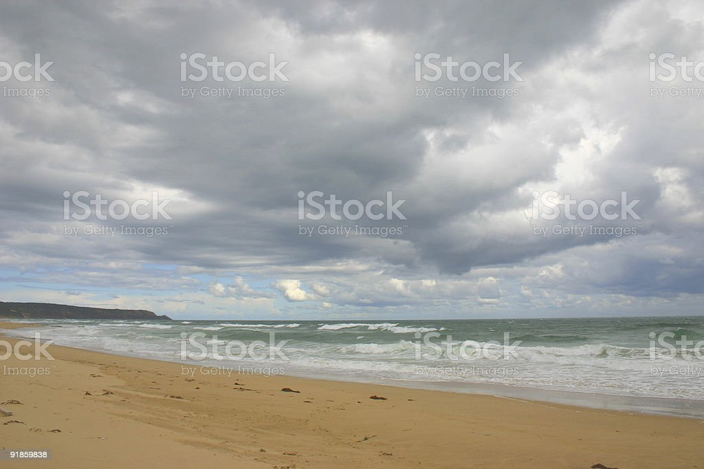 low cloud cover royalty-free stock photo
