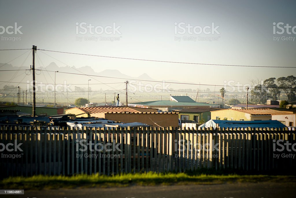 Low cost housing stock photo
