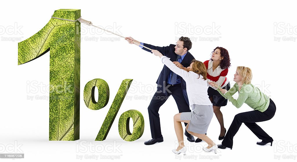 Low credit interest rate royalty-free stock photo
