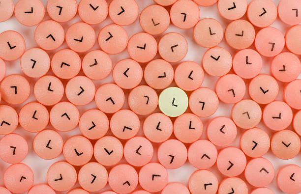 Low Dose Aspirin stock photo