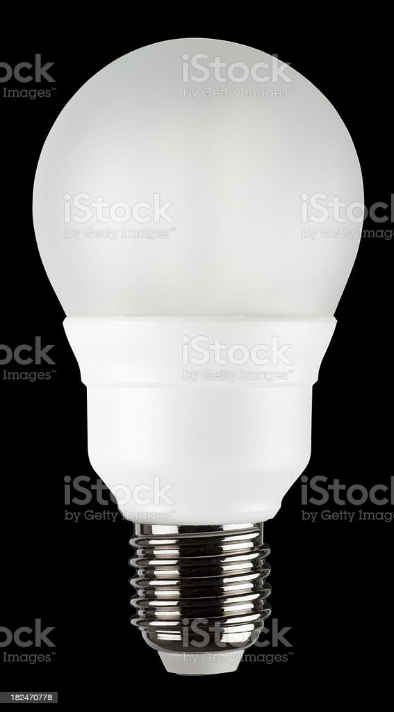 Low energy light bulb royalty-free stock photo