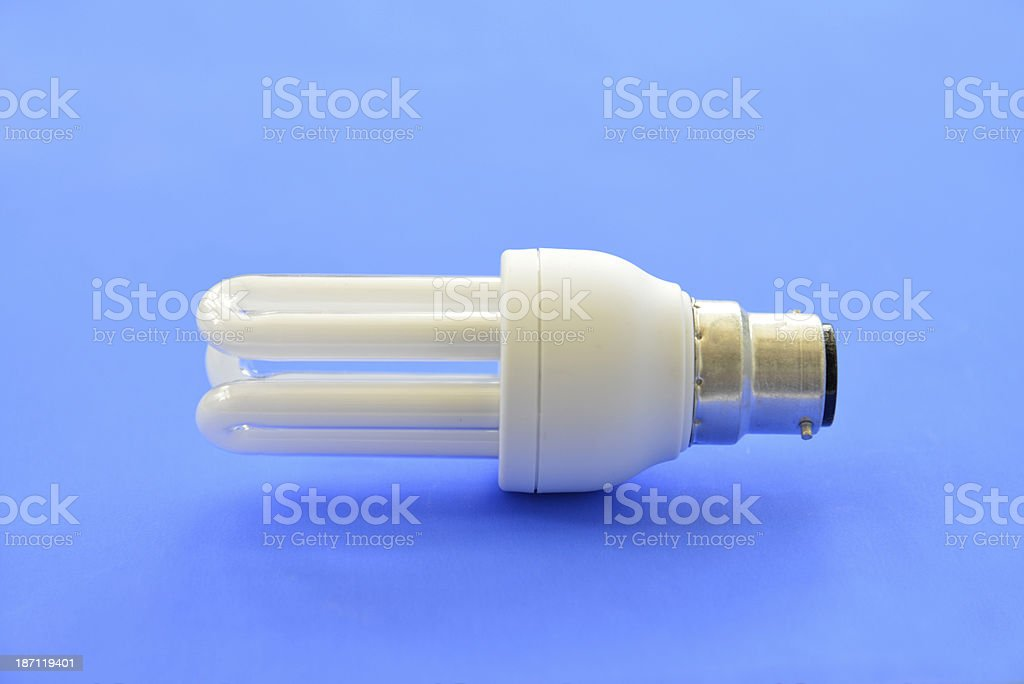 Low energy lightbulb. royalty-free stock photo