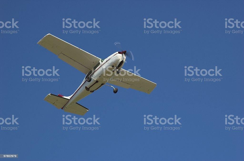 Low Flier stock photo