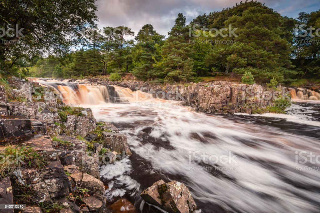 Low Force and Whin Sill stock photo
