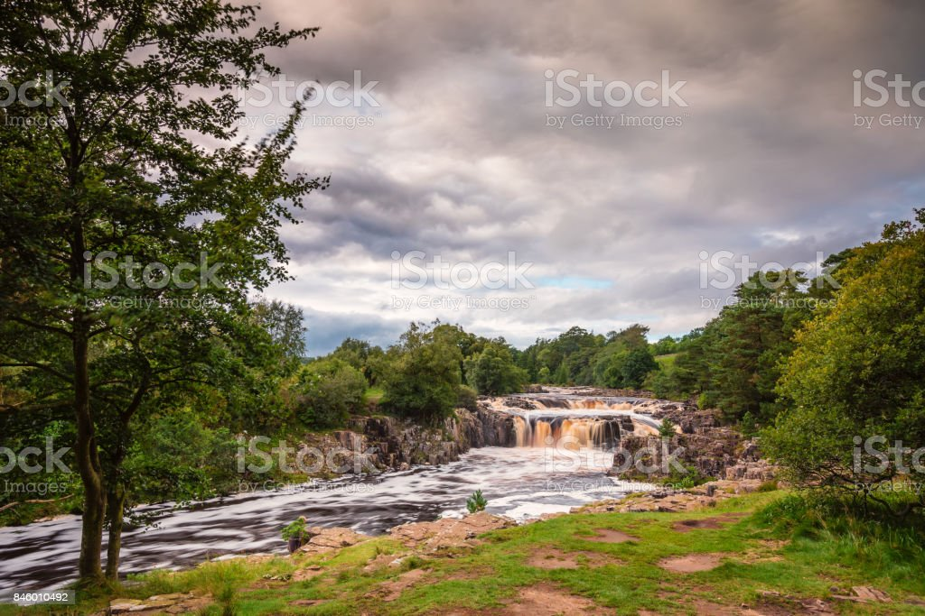 Low Force Waterfall stock photo