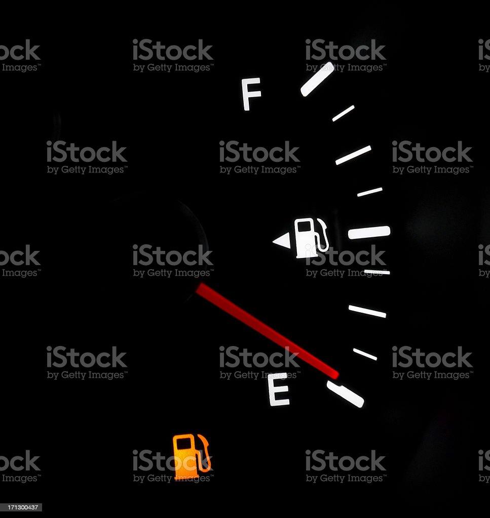 Low Fuel stock photo