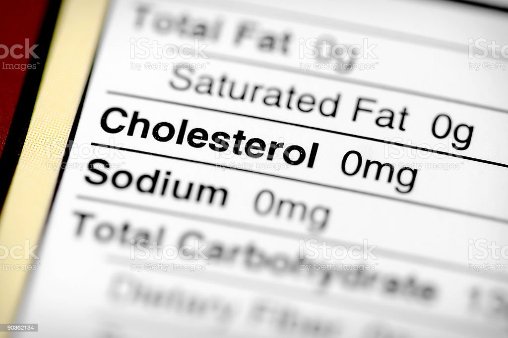 Low In Cholesterol royalty-free stock photo