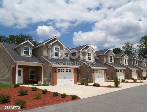 istock Low Income Retirement Condos or Complex 176823773