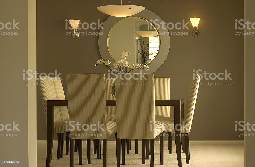 Low Key Dining stock photo