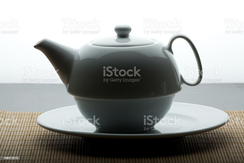 Low key Tea Cup royalty-free stock photo