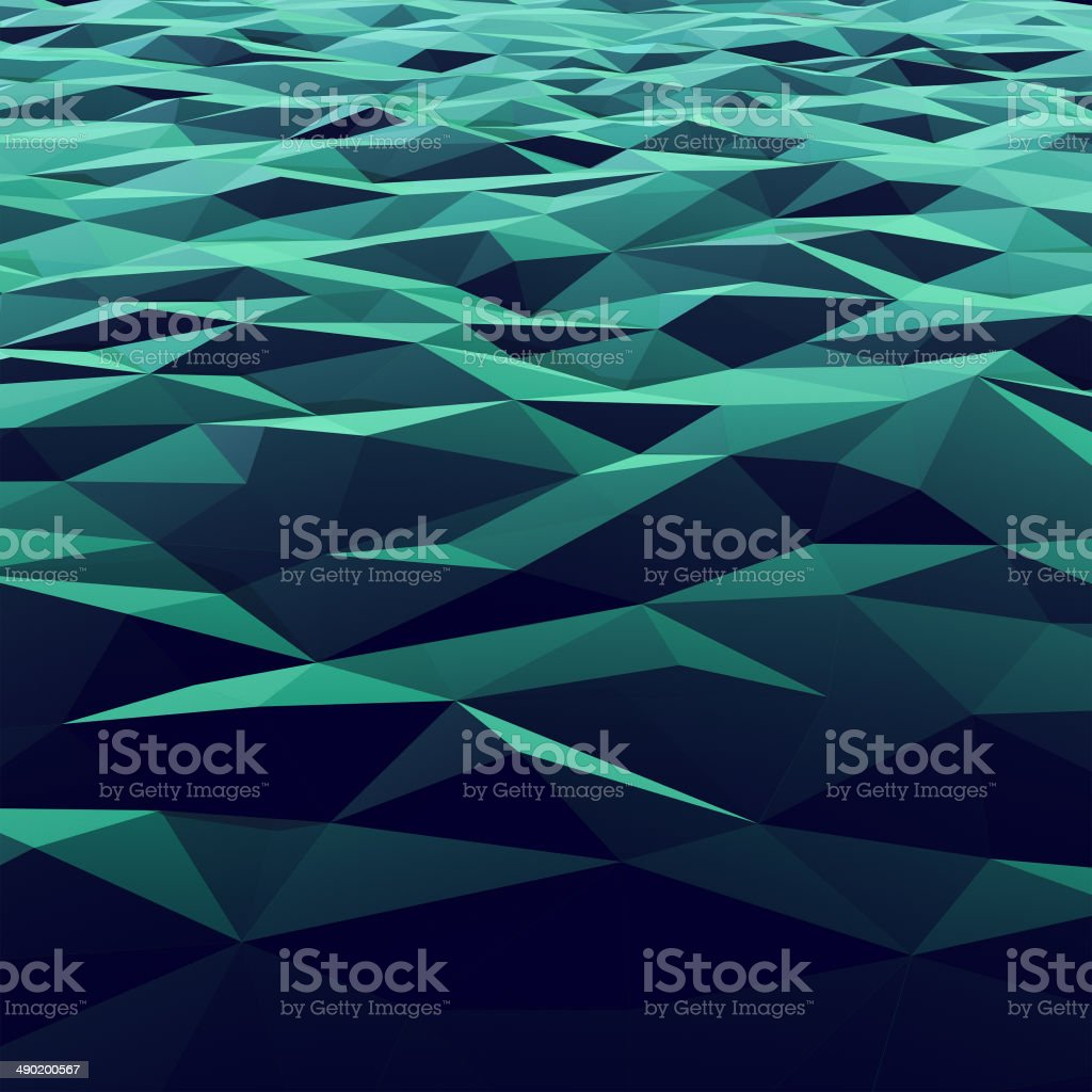 Low poly background stock photo