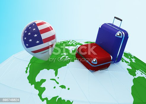 831661634istockphoto Low poly travel to USA 595746824