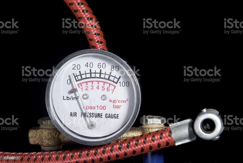 Baja presión foto de stock libre de derechos