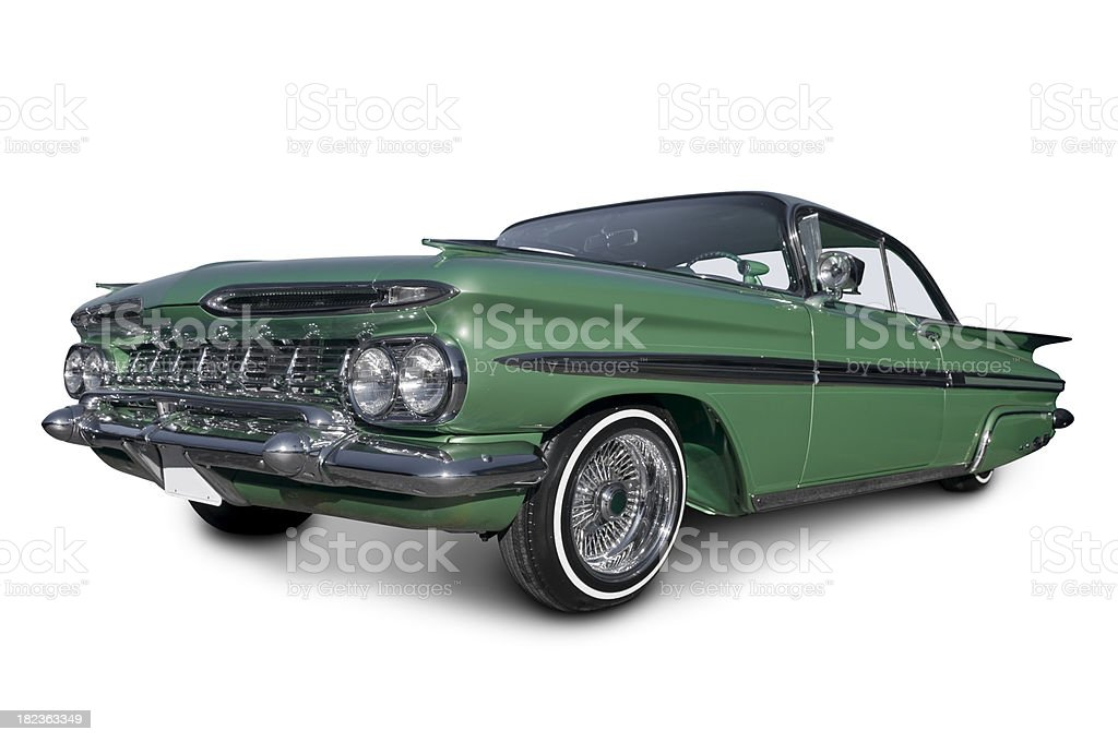 Low Rider Chevy Impala royalty-free stock photo