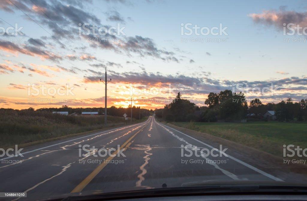 Cloud - Sky, Cloudscape, Country Road, Dawn, Dusk